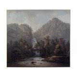Lodore Waterfall, Westmoreland, 1785 Giclee Print by Joseph Farington