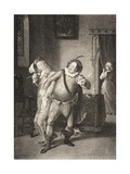 Olivia's House, Act II, Scene III, from 'twelfth Night, or What You Will', from the Boydell… Giclee Print by William Hamilton