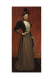 Maggie Hamilton (Mrs A.N. Paterson) Giclee Print by Sir James Guthrie