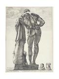 The Farnese Hercules, 1592 Giclee Print by Hendrik Goltzius