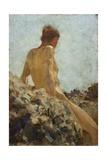 Nude Study Giclee Print by Henry Scott Tuke