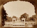 The Dilkoosha Palace Photographic Print by Felice Beato