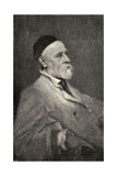 Portrait of George Frederick Watts, Engraved by T. Johnson after the Photograph by Hollyer, from… Giclee Print by Frederick Hollyer