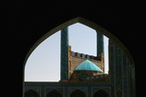 The Rear of the Gateway of the Imam Mosque, Imam Khomeini Square Photographic Print