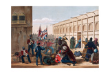Storming of Khelat, the Troops Entering the Zenana, 13th November, 1839, from 'The Storming of… Giclee Print by Lieutenant Thomas Wingate