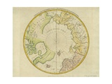 A Map of the Countries Thirty Degrees Round the North Pole, from 'Atlas to Crutwell's Gazetteer'… Giclee Print by Samuel John Neele