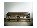 Yarn Winder with 24 Spindles, 1820-40 Giclee Print by German School