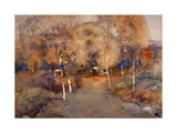 Autumn - Loch Lomond, 1893 Giclee Print by Arthur Melville