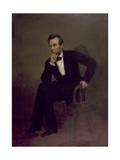 Abraham Lincoln, C.1868 Reproduction procédé giclée par George Peter Alexander Healy