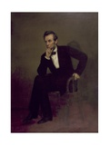 Abraham Lincoln, C.1868 Giclee Print by George Peter Alexander Healy