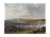 Cullercoats Looking Towards Tynemouth - Flood Tide, 1845 Giclee Print by John Wilson Carmichael