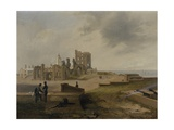 Tynemouth Priory from the East, 1845 Giclee Print by John Wilson Carmichael