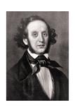 Felix Mendelssohn Giclee Print by Eduard Magnus