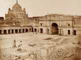 The Place in Which the Gen Neil Was Killed in the Chinese Bazaar, Lucknow Photographic Print by Felice Beato