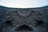 Stalactite Decoration on the Arch of the Gateway of the Imam Mosque, Imam Khomeini Square Photographic Print