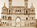 Gateway of the Small Emaum Bara Photographic Print by Felice Beato