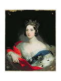 Queen Victoria, 1843 Giclee Print by William Fowler