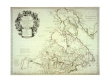 Map of Canada, Published Paris, 1703 Giclee Print by Guillaume Delisle