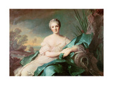 Victoire De France as the Element of Water, 1750-1 Giclee Print by Jean-Marc Nattier
