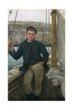 Our Jack, 1886 Giclee-trykk av Henry Scott Tuke