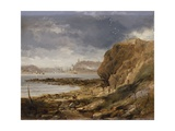 Shields from the Harbour Mouth, 1845 Giclee Print by John Wilson Carmichael