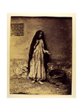 Untitled (Beggar in Cairo), 1876 Giclee Print by Carlo Naya