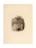 The Bridge of Sighs, Venice, C.1832 Giclee Print by Edward Francis Finden