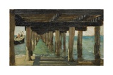 Under the Jetty Giclee Print by Henry Scott Tuke