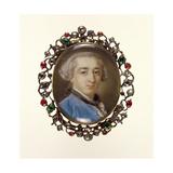 Portrait Miniature of Richard Milles, C.1758 Giclée-tryk af Pompeo Girolamo Batoni