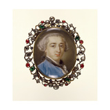 Portrait Miniature of Richard Milles, C.1758 Giclee Print by Pompeo Batoni