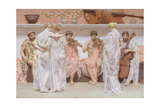 The Quartet Giclee Print by Albert Joseph Moore