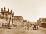The Road by Which General Sir Henry Havelock Entered the Residency, Lucknow Photographic Print by Felice Beato