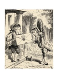 Fish Footman, from 'Alice's Adventures in Wonderland' by Lewis Carroll, Published 1891 Giclee Print by John Tenniel
