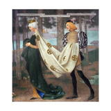 The Queen and the Page, 1896 Giclee Print by Marianne Stokes