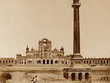 La Martiniere Pillar Photographic Print by Felice Beato