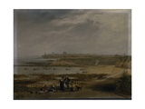 Cullercoats Looking Towards Tynemouth - Ebb Tide, 1845 Giclee Print by John Wilson Carmichael