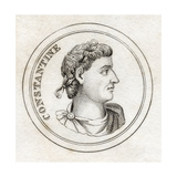 Emperor Constantine, from 'Crabb's Historical Dictionary', Published 1825 Giclee Print