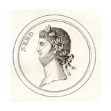 Nero, from 'Crabb's Historical Dictionary', Published 1825 Giclee Print