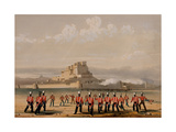 Storming of Khelat, the Advance Companies, 13th November 1839, from 'The Storming of Ghuznee and… Giclee Print by Lieutenant Thomas Wingate