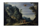 Mercury and Herse, C.1605 Giclee Print by Paul Brill Or Bril