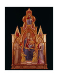 Madonna and Child with Saints Giclee Print by  Nanni di Jacopo