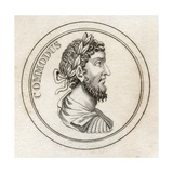 Emperor Commodus, from 'Crabb's Historical Dictionary', Published 1825 Giclee Print