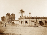 The Secundra Bagh Showing the Breach of Gateway, Lucknow Photographic Print by Felice Beato