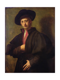 Portrait of a Man, Called the Fattore of San Marco Giclée-tryk af Domenico Puligo