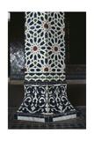Kasbah of Thamiel Glaoui, Zellij Tilework, Detail Giclee Print