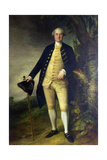 Portrait of William Hall, 2nd Viscount Gage Giclee-trykk av Gainsborough, Thomas