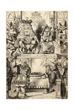 The Trial of the Knave of Hearts, from 'Alice's Adventures in Wonderland' by Lewis Carroll,… Giclee Print by John Tenniel