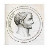 Emperor Diocletian, from 'Crabb's Historical Dictionary', Published 1825 Giclee Print