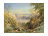 Avon Gorge from Leigh Woods, Looking Towards St. Vincent Rocks Giclee Print by Samuel Jackson