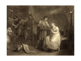 In Calchas' Tent, Act V, Scene II, from 'troilus and Cressida' by William Shakespeare (1564-1616)… Giclee Print by Angelica Kauffmann